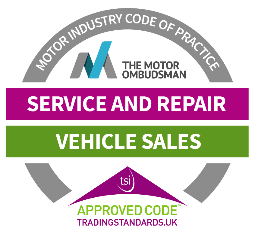 Motor Ombudsman Vehicle Sales, Service & Repair CTSI approved