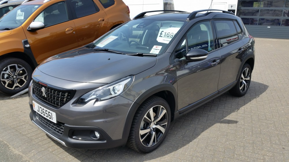 2018 Peugeot 2008 GT Line 1.2 TSI 110 PS Automatic 5 Door Crossover
