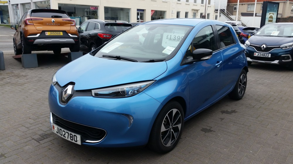 2017 Renault Zoe Dynamique Nav 100% Electric Automatic 5 Door Hatch