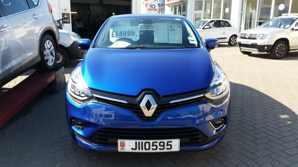 2016 Renault Clio Dynamique S Nav TCe 120 BHP Manual 5 Door Hatch