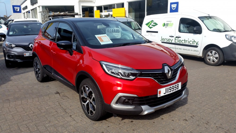 2018 Renault Captur Signature X Nav TCe 90 BHP Manual 5 Door Urban Crossover