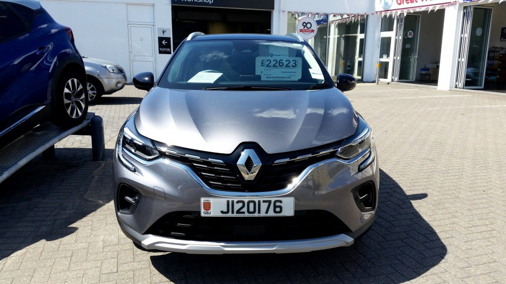 2020 All-New Renault Captur S Edition TCe 130 BHP EDC Automatic 5 Door SUV
