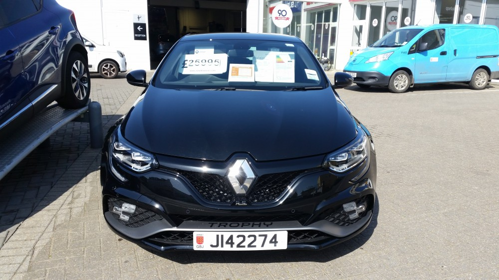 2019 Renault Megane R.S Trophy 1.8 TCe 300 BHP Manual 5 Door Hatch