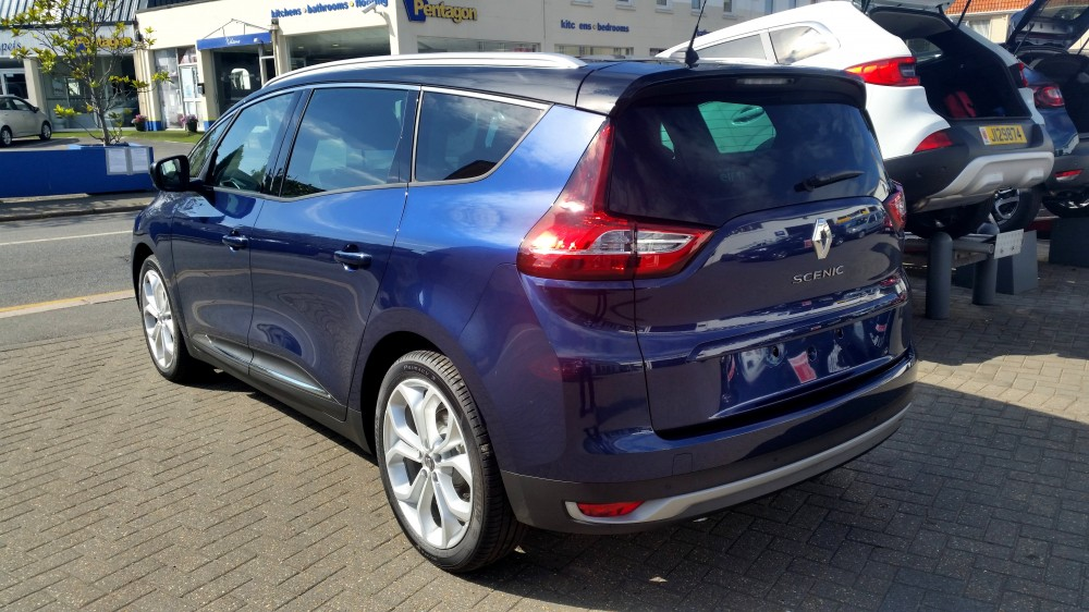 2019 Renault Grand Scenic Iconic TCe 140 BHP EDC Automatic 7 Seat MPV
