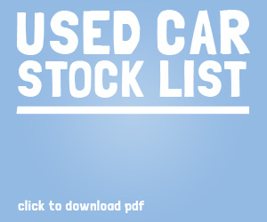 Used Car Stock List