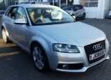 used car 2012 Audi A3 S Line 1.8 TFSI 160 PS S-Tronic Automatic 5 Door Sportback