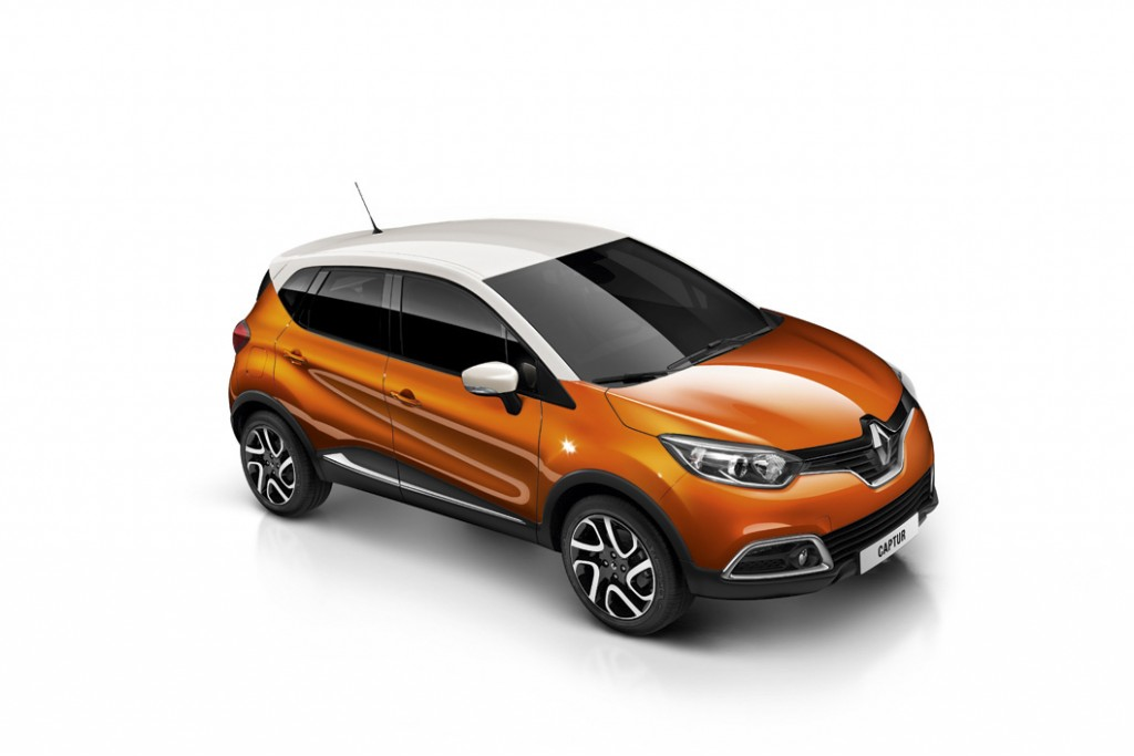 Renault Captur Colours Renault Captur